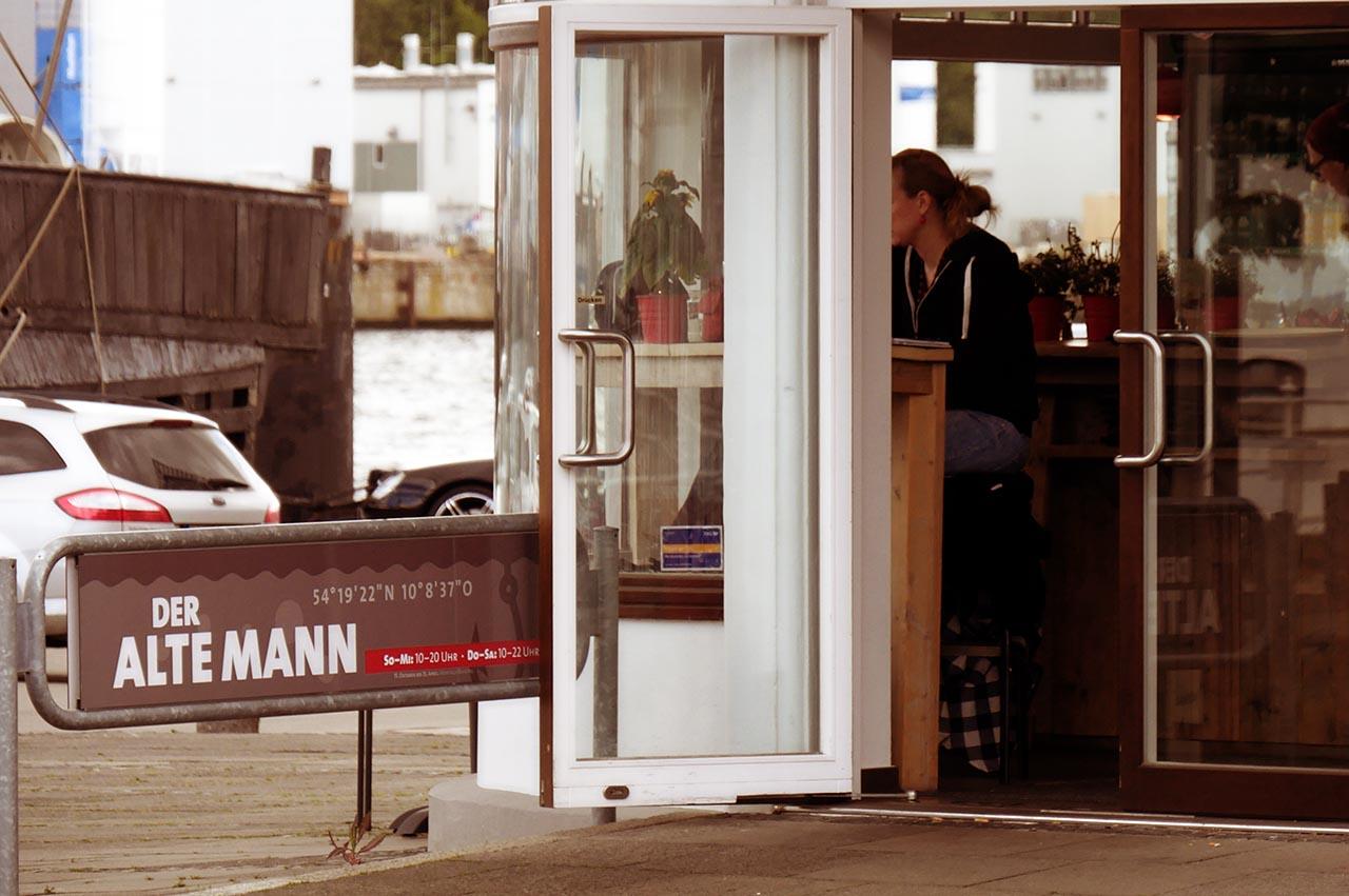 Alter Mann Kiel